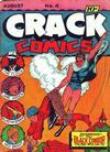 Cover for Crack Comics (Quality Comics, 1940 series) #4