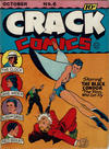 Cover for Crack Comics (Quality Comics, 1940 series) #6