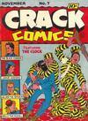 Cover for Crack Comics (Quality Comics, 1940 series) #7