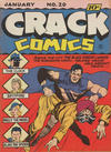 Cover for Crack Comics (Quality Comics, 1940 series) #20