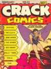 Cover for Crack Comics (Quality Comics, 1940 series) #21