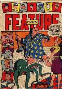 Cover Thumbnail for Feature Comics (Quality Comics, 1939 series) #71