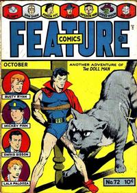 Cover Thumbnail for Feature Comics (Quality Comics, 1939 series) #72