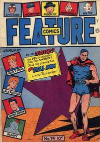 Cover Thumbnail for Feature Comics (Quality Comics, 1939 series) #74