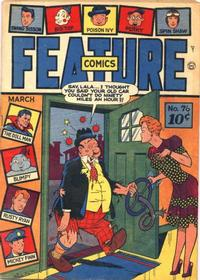 Cover Thumbnail for Feature Comics (Quality Comics, 1939 series) #76