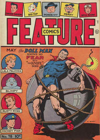 Cover Thumbnail for Feature Comics (Quality Comics, 1939 series) #78