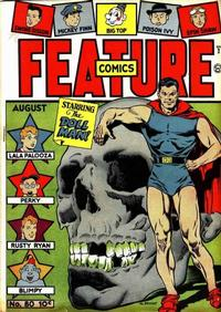 Cover Thumbnail for Feature Comics (Quality Comics, 1939 series) #80
