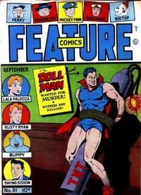 Cover Thumbnail for Feature Comics (Quality Comics, 1939 series) #81