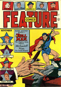 Cover Thumbnail for Feature Comics (Quality Comics, 1939 series) #83