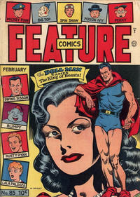 Cover Thumbnail for Feature Comics (Quality Comics, 1939 series) #85