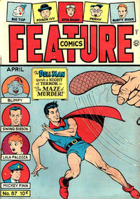 Cover Thumbnail for Feature Comics (Quality Comics, 1939 series) #87