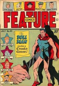 Cover Thumbnail for Feature Comics (Quality Comics, 1939 series) #89