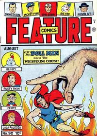 Cover Thumbnail for Feature Comics (Quality Comics, 1939 series) #90