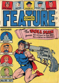 Cover Thumbnail for Feature Comics (Quality Comics, 1939 series) #93