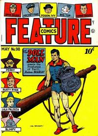 Cover Thumbnail for Feature Comics (Quality Comics, 1939 series) #98