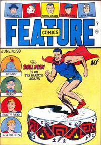 Cover Thumbnail for Feature Comics (Quality Comics, 1939 series) #99