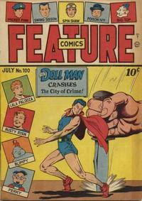 Cover Thumbnail for Feature Comics (Quality Comics, 1939 series) #100