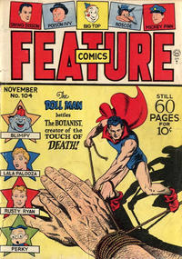 Cover Thumbnail for Feature Comics (Quality Comics, 1939 series) #104