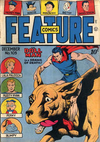 Cover Thumbnail for Feature Comics (Quality Comics, 1939 series) #105