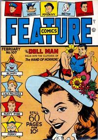 Cover Thumbnail for Feature Comics (Quality Comics, 1939 series) #107