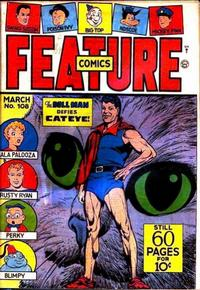 Cover Thumbnail for Feature Comics (Quality Comics, 1939 series) #108
