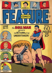 Cover Thumbnail for Feature Comics (Quality Comics, 1939 series) #111