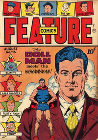 Cover Thumbnail for Feature Comics (Quality Comics, 1939 series) #113
