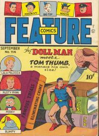 Cover for Feature Comics (Quality Comics, 1939 series) #114