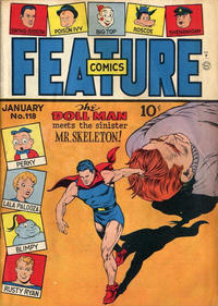 Cover Thumbnail for Feature Comics (Quality Comics, 1939 series) #118