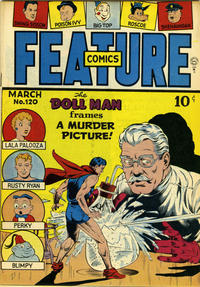 Cover Thumbnail for Feature Comics (Quality Comics, 1939 series) #120