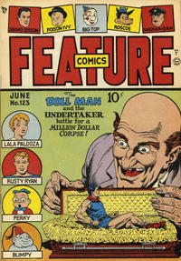 Cover Thumbnail for Feature Comics (Quality Comics, 1939 series) #123