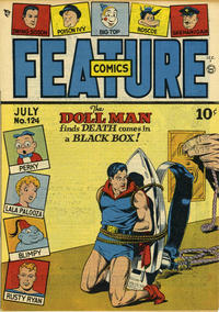 Cover Thumbnail for Feature Comics (Quality Comics, 1939 series) #124