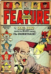 Cover Thumbnail for Feature Comics (Quality Comics, 1939 series) #125