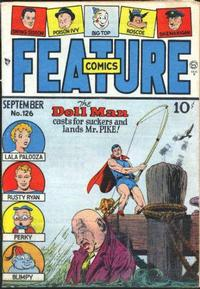 Cover Thumbnail for Feature Comics (Quality Comics, 1939 series) #126