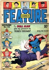 Cover Thumbnail for Feature Comics (Quality Comics, 1939 series) #128
