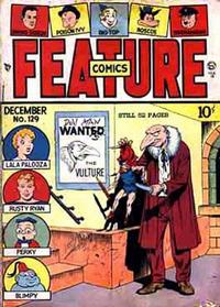 Cover Thumbnail for Feature Comics (Quality Comics, 1939 series) #129