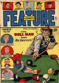 Cover Thumbnail for Feature Comics (Quality Comics, 1939 series) #132