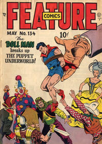 Cover Thumbnail for Feature Comics (Quality Comics, 1939 series) #134