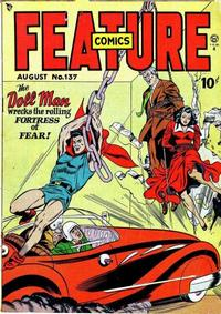 Cover Thumbnail for Feature Comics (Quality Comics, 1939 series) #137