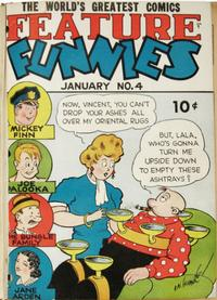 Cover Thumbnail for Feature Funnies (Quality Comics, 1937 series) #4