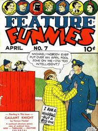Cover Thumbnail for Feature Funnies (Quality Comics, 1937 series) #7