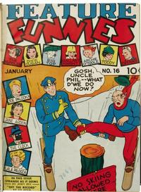 Cover Thumbnail for Feature Funnies (Quality Comics, 1937 series) #16