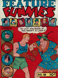 Cover Thumbnail for Feature Funnies (Quality Comics, 1937 series) #18
