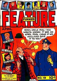 Cover Thumbnail for Feature Funnies (Quality Comics, 1937 series) #19
