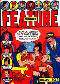 Cover Thumbnail for Feature Funnies (Quality Comics, 1937 series) #20