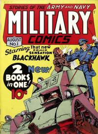Cover Thumbnail for Military Comics (Quality Comics, 1941 series) #1