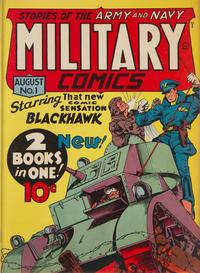 Cover Thumbnail for Military Comics (Quality Comics, 1941 series) #1