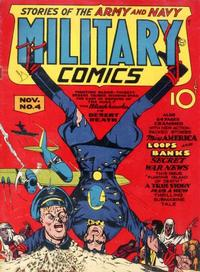 Cover Thumbnail for Military Comics (Quality Comics, 1941 series) #4
