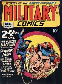 Cover Thumbnail for Military Comics (Quality Comics, 1941 series) #5