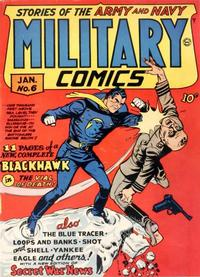 Cover Thumbnail for Military Comics (Quality Comics, 1941 series) #6